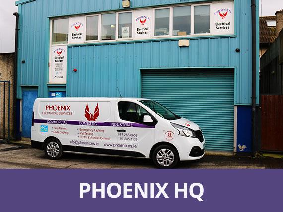 Electricians Dublin - Phoenix Electrical Services HQ