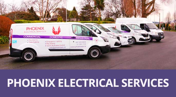 Phoenix Electrical Contractors Dublin Fleet Vans 2